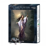 Lady of the Lake - puzzle 1000 el. James Ryman
