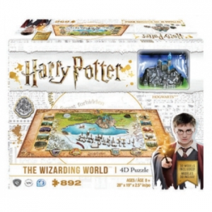 Harry Potter Świat Magii puzzle 4d 892 el.