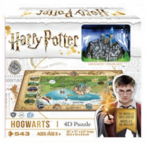 Harry Potter Hogwarts Puzzle 4d 543 el.