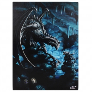 Skalny Smok-Rock Dragon-Age of Dragons Anne Stokes-duży obraz na płótnie canvas
