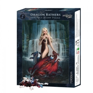 Dragon Bathers - puzzle 1000 el. James Ryman